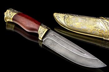 Применение булатного ножа и уход за ним