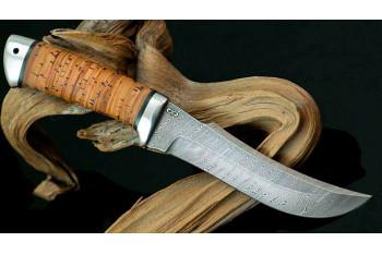 Подойдет ли дамасская сталь для охотничьего ножа