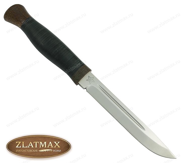 Нож Финка-3 (95Х18, Наборная кожа, Текстолит) фото-01