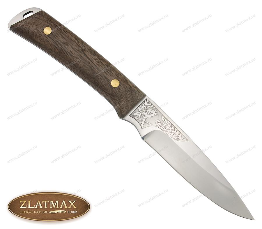 Нож Снегирь (100Х13М, Накладки орех) фото 01