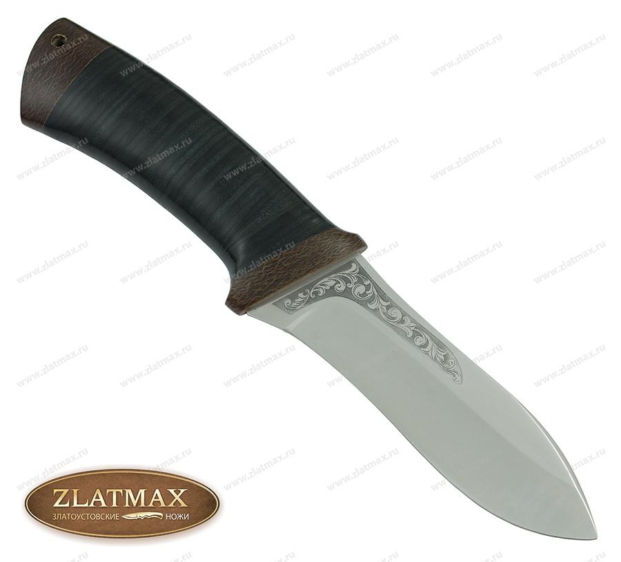 Нож Скинер (ЭП-766, Наборная кожа, Текстолит) фото-01