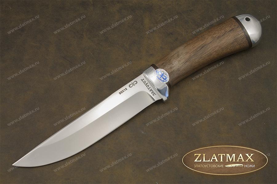 Нож златоуст 95х18 волк air company ножи mora классик