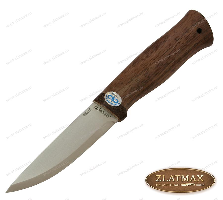 Нож Кузюк (95Х18, Орех, Текстолит) фото 01