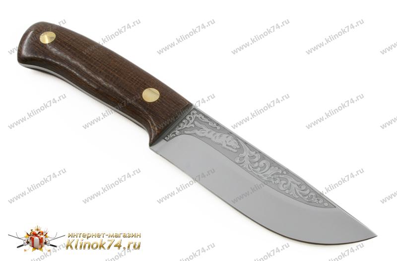 Нож Клычок-2 ЦМ (95Х18, Накладки текстолит) фото 01