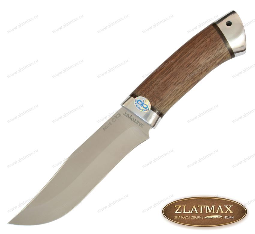 Нож Клычок-3 (95Х18, Орех, Алюминий) фото 01