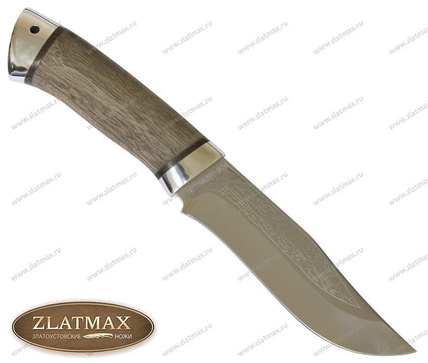 Нож Клычок-3 (100Х13М, Орех, Алюминий) фото 01
