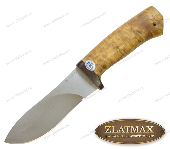 Нож Гепард (95Х18, Карельская берёза, Текстолит) фото-01