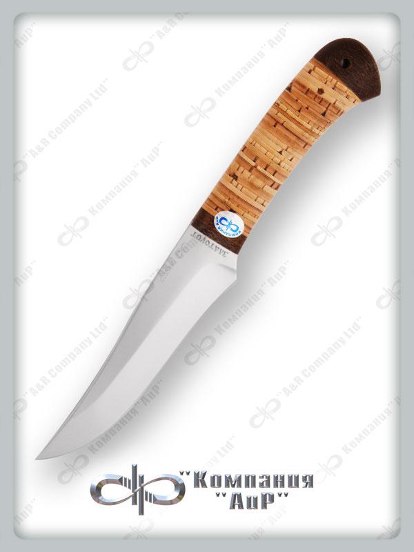 Нож Восток (95Х18, Наборная береста, Текстолит) фото 01