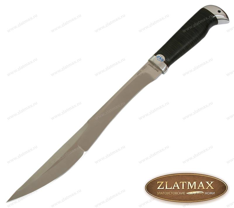 Нож Боярин (95Х18, Наборная кожа, Алюминий) фото 01