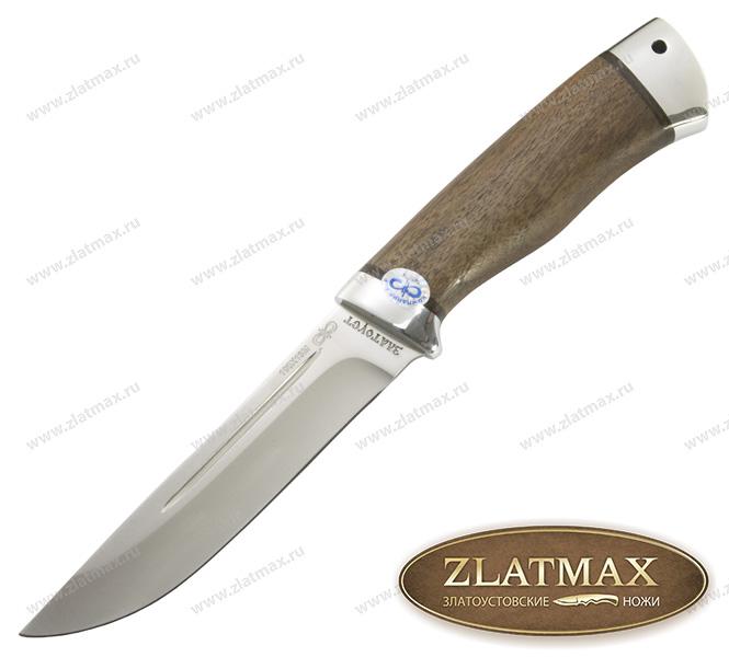 Нож Бекас (100Х13М, Орех, Алюминий) фото 01