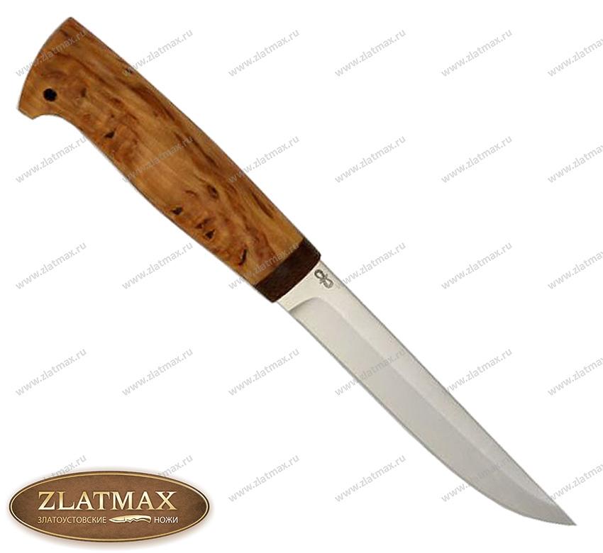 Нож Финка-5 (95Х18, Карельская берёза, Текстолит) фото 01