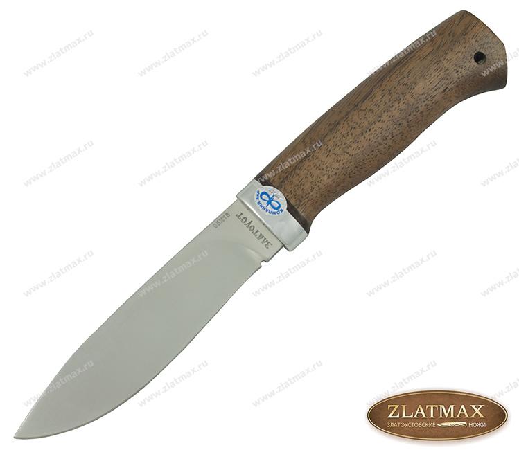 Нож Пилигрим (95Х18, Орех, Алюминий) фото 01