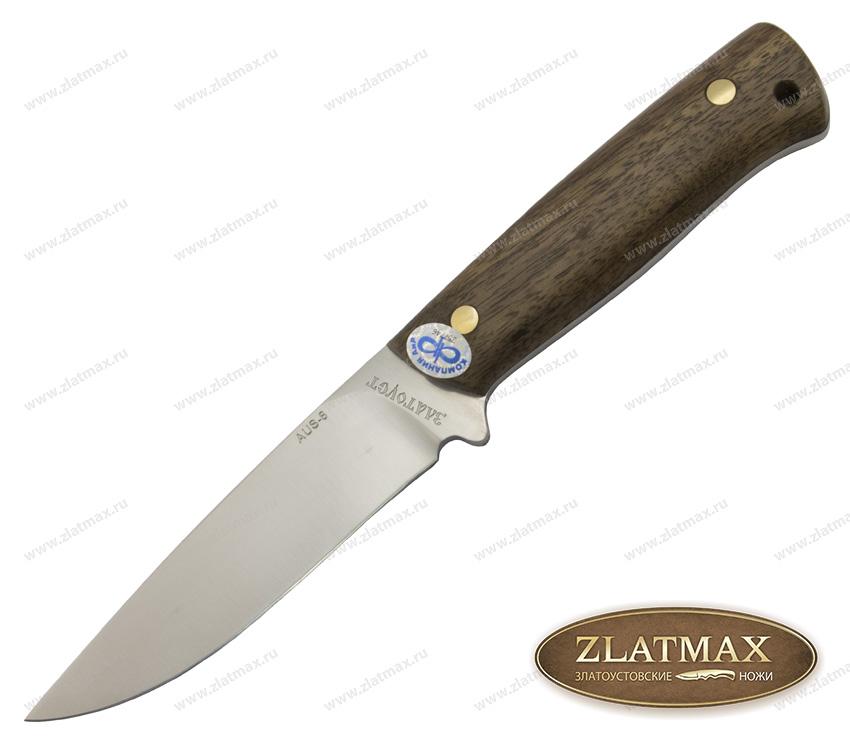 Нож Стриж (AUS-8, Накладки орех) фото 01