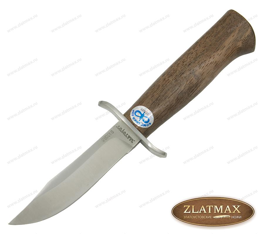 Нож детский Егоза (95Х18, Орех, Нержавеющая сталь) фото-01