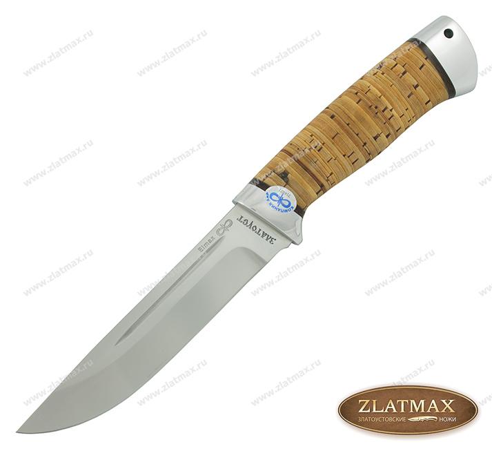 Нож Бекас (ELMAX, Наборная береста, Алюминий) фото-01