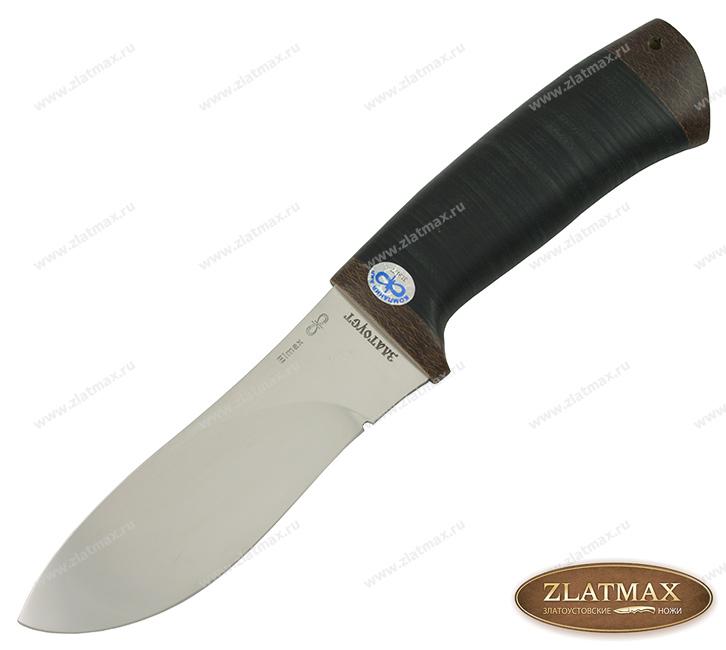 Нож Гепард (ELMAX, Наборная кожа, Текстолит) фото 01