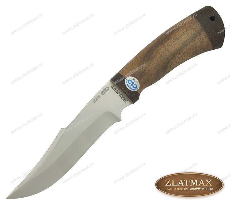 Нож Хазар (95Х18, Орех, Текстолит) фото 01