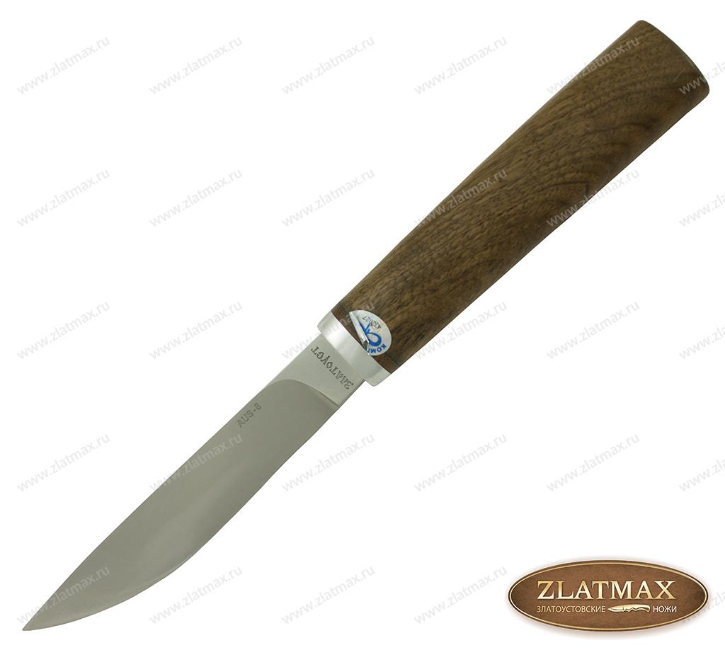 Нож Якут (AUS-8, Орех, Алюминий, Не предусмотрено) фото 01