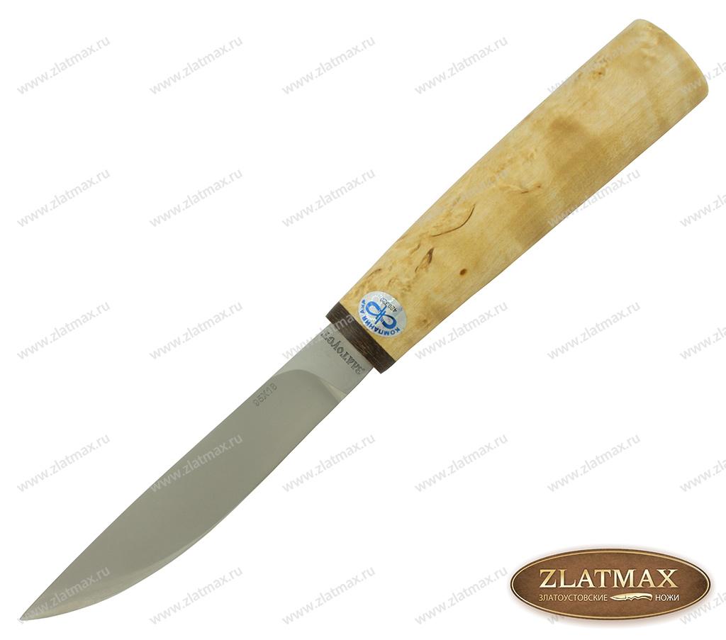 Нож Якут (95Х18, Карельская берёза, Текстолит) фото 01