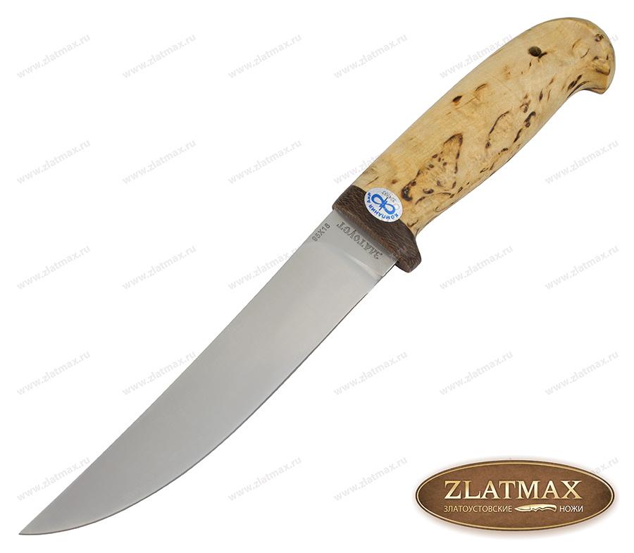 Нож Чеглок (95Х18, Карельская берёза, Текстолит) фото 01