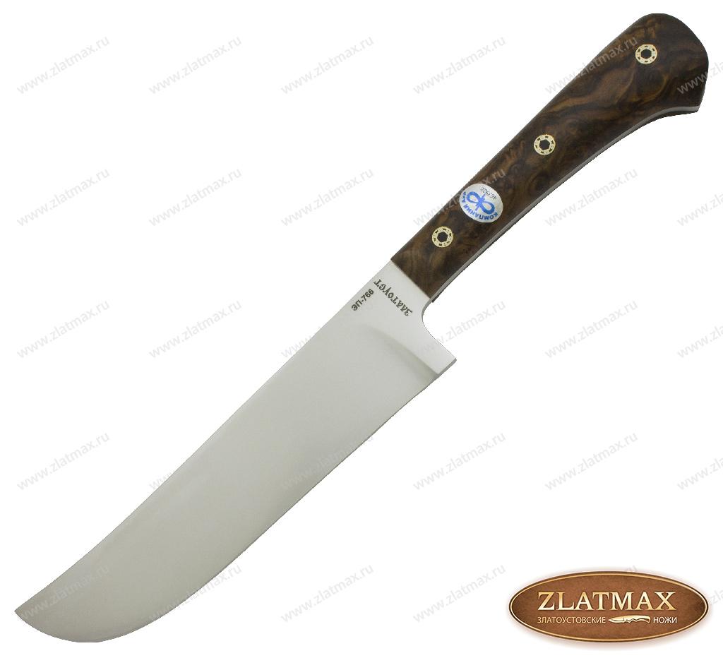 Нож Пчак-Н (ЭП-766, Накладки ореховый кап) фото-01