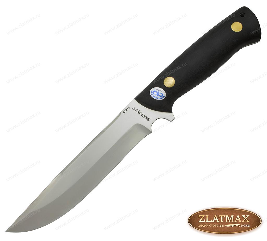 Нож Рифей (95Х18, Накладки граб) фото 01