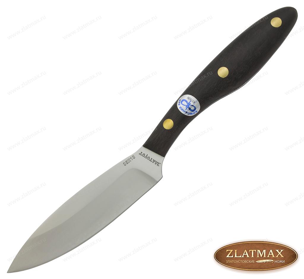 Нож Траппер средний (95Х18, Накладки граб) фото-01