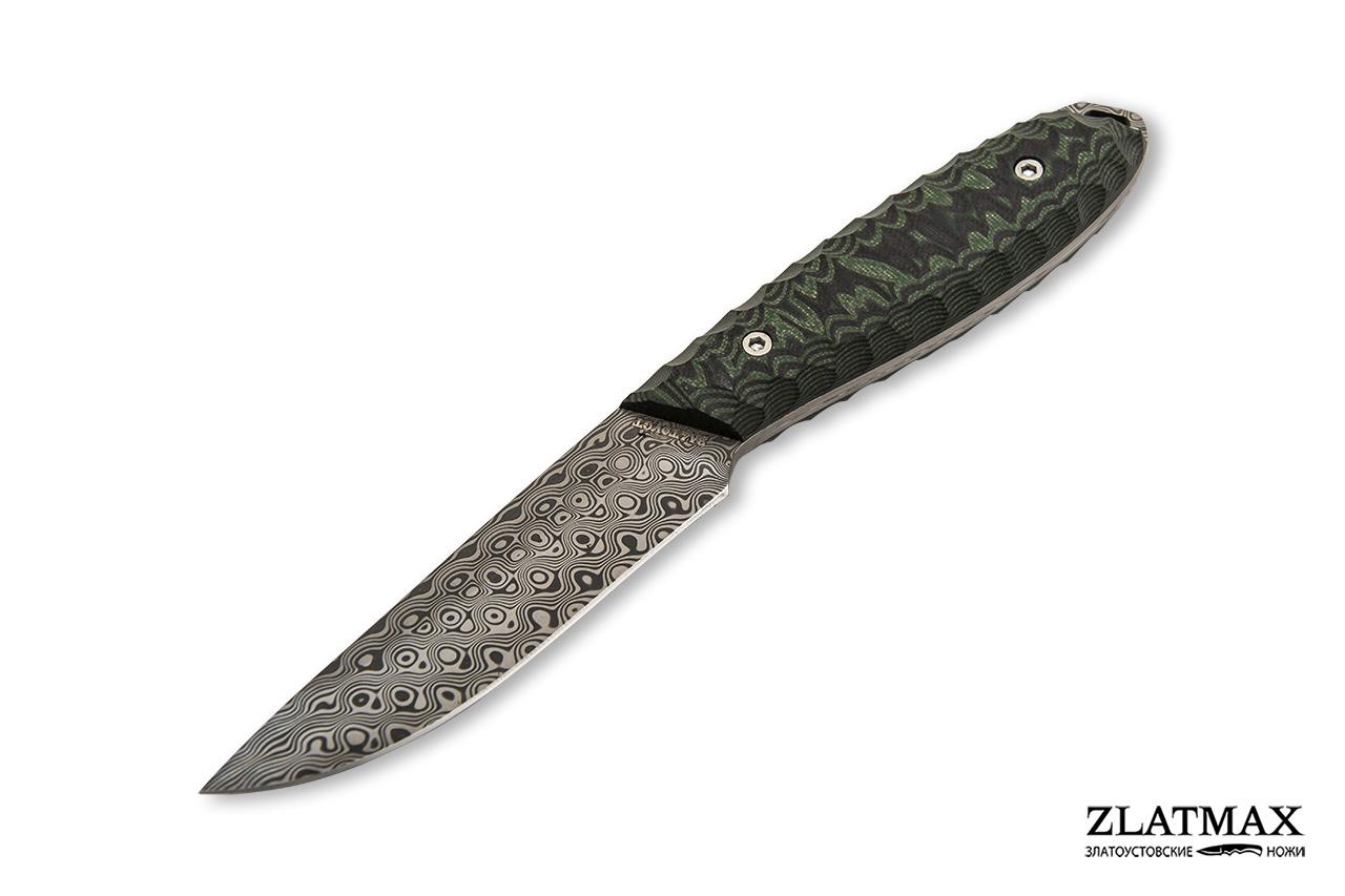 Нож Жулан (Damasteel (Швеция), Накладки G10) фото 01