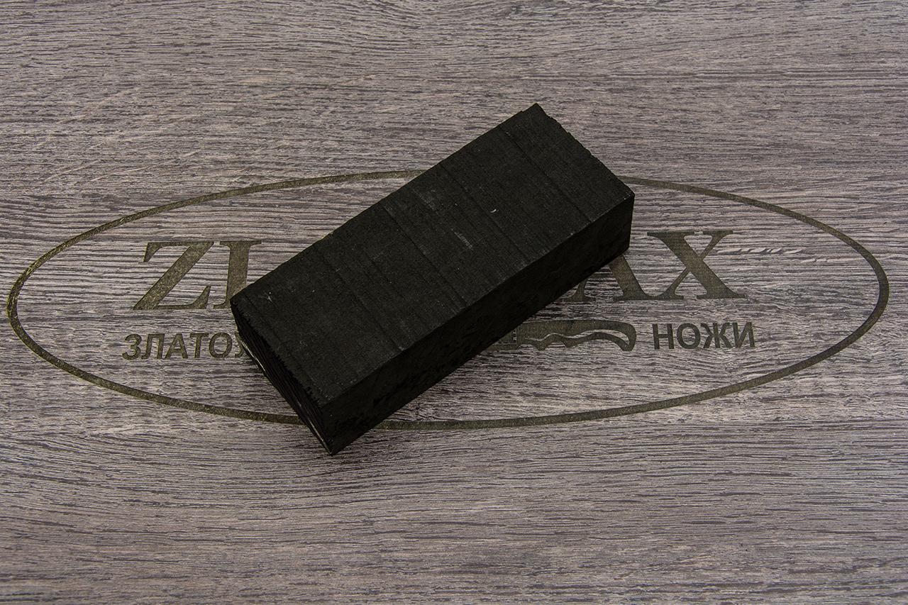 Брусок для рукояти Чёрный Граб фото 01