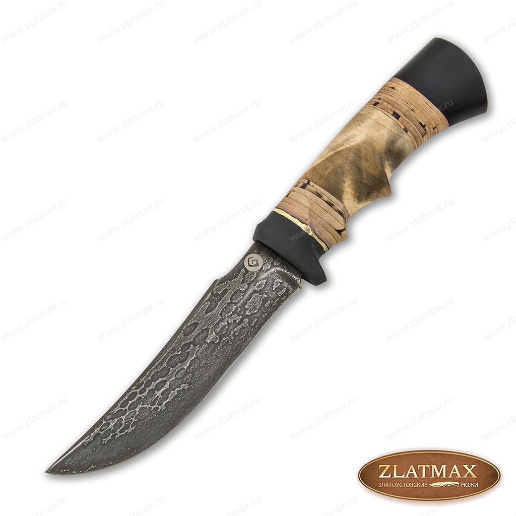 Нож T001-v1 (Литой булат, Комбинированная, Текстолит) фото 01