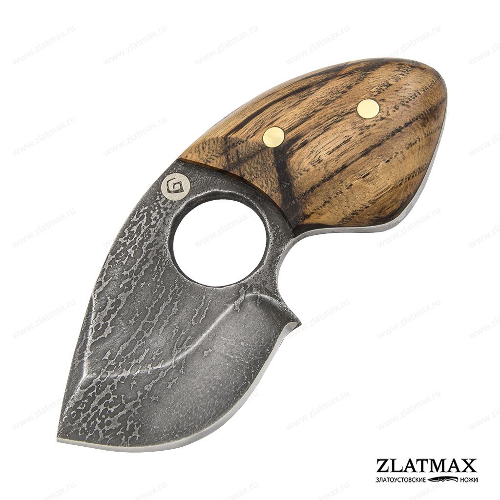 Нож Бобрик (Литой булат, Накладки орех) фото-01
