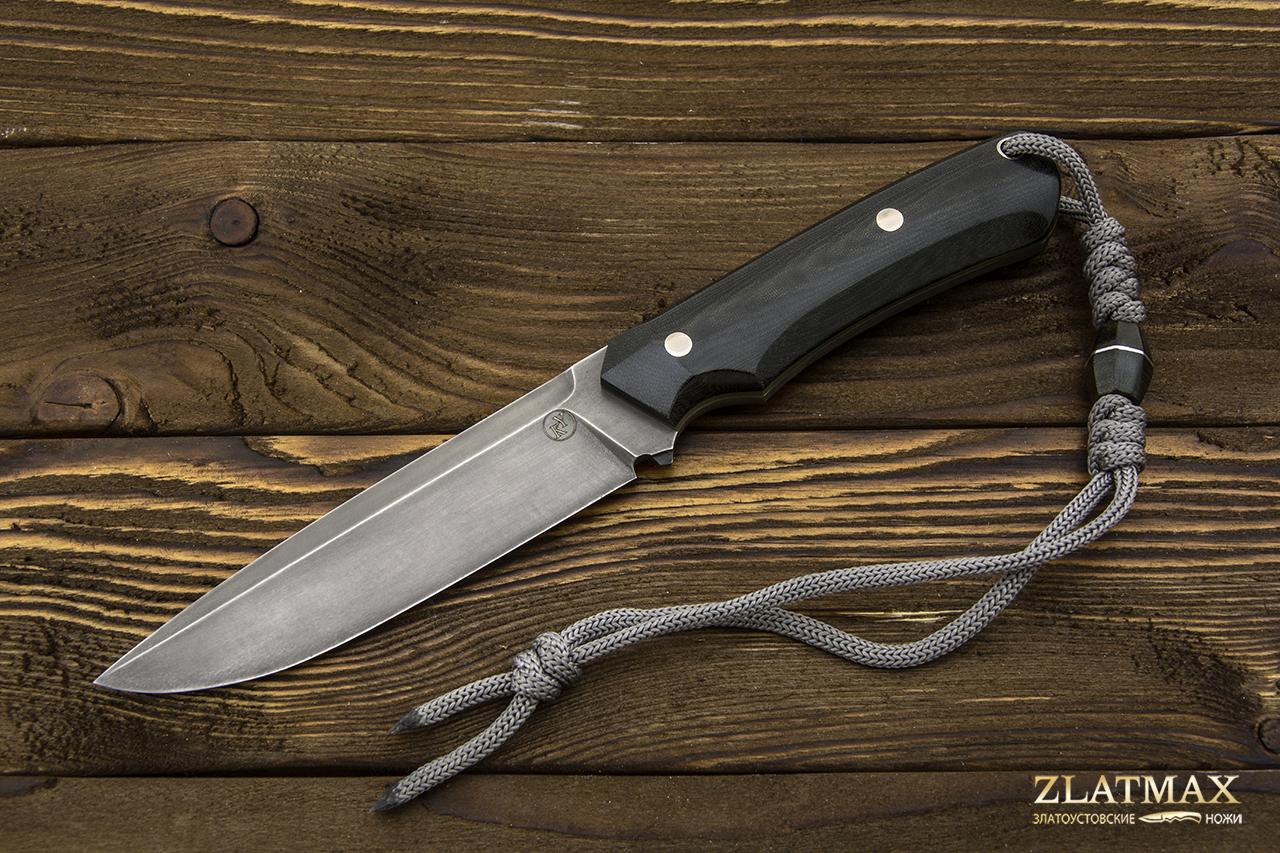 Нож НР-3 ЦМ (Х12МФ, Накладки микарта) фото 01