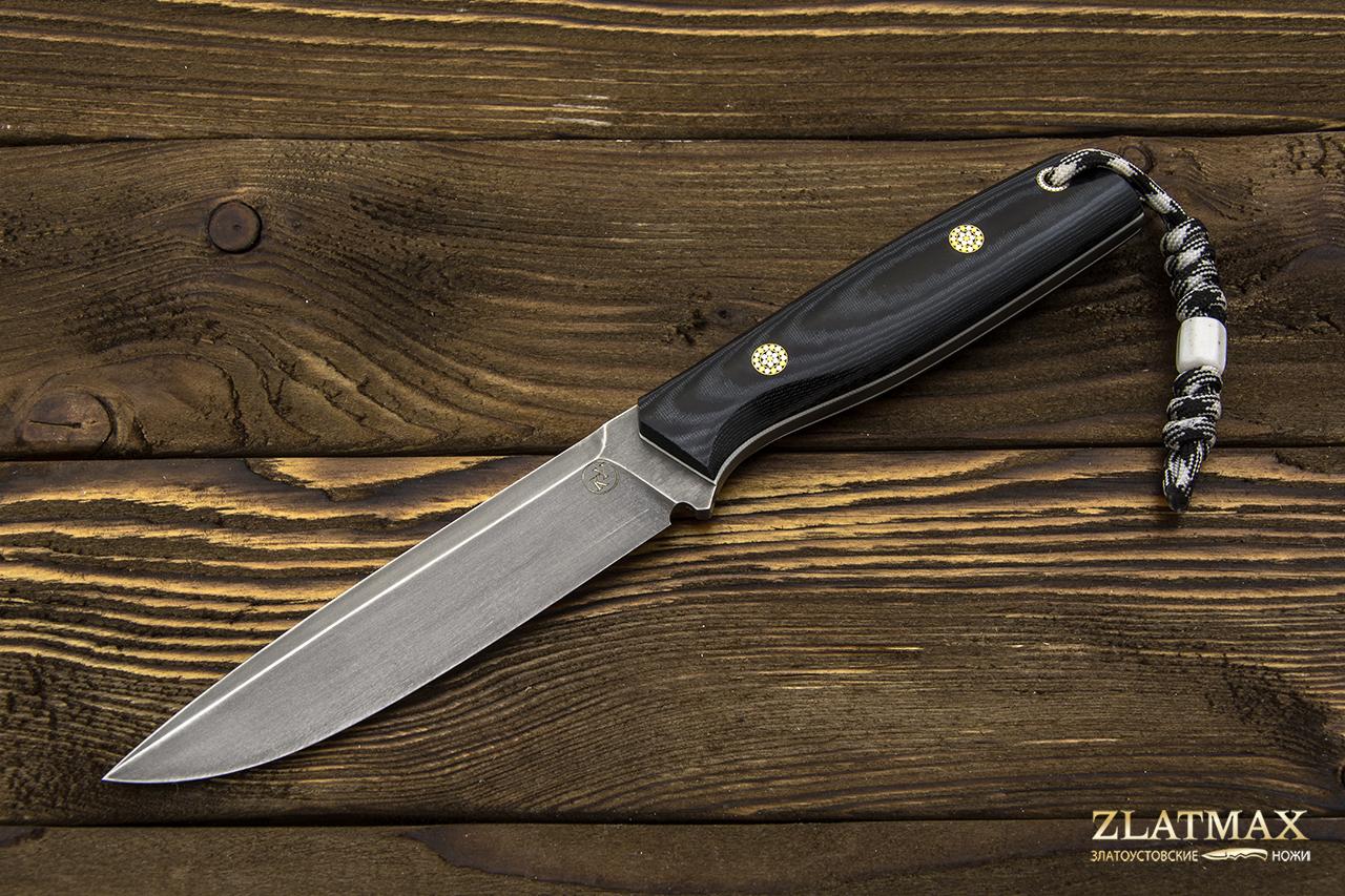 Нож НР-2 ЦМ (Х12МФ, Накладки микарта) фото-01