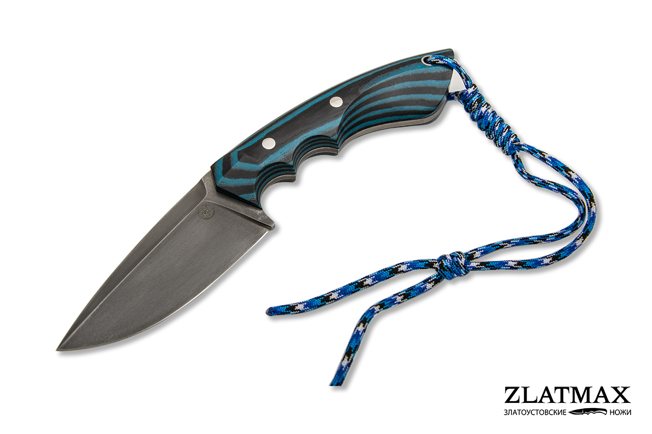 Нож НШС-5 ЦМ V3 (Х12МФ, Накладки G10) фото-01