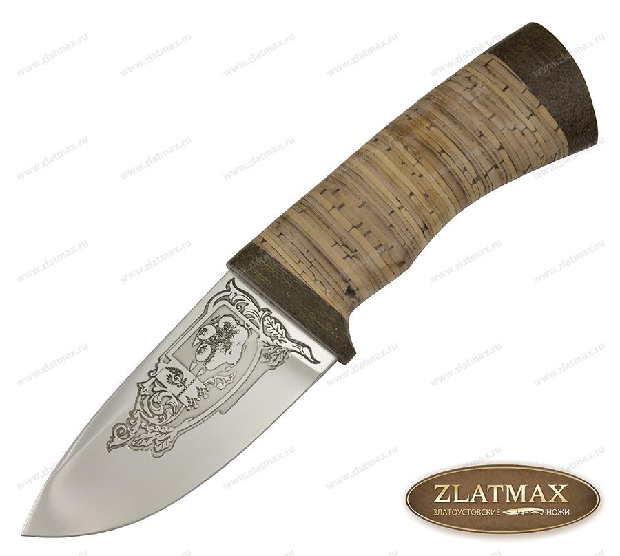 Нож Миша (95Х18, Наборная береста, Текстолит) фото-01