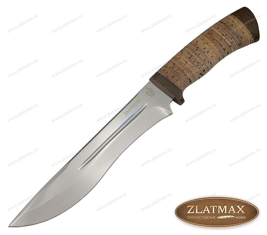 Нож Байкал (40Х10С2М, Наборная береста, Текстолит) фото-01