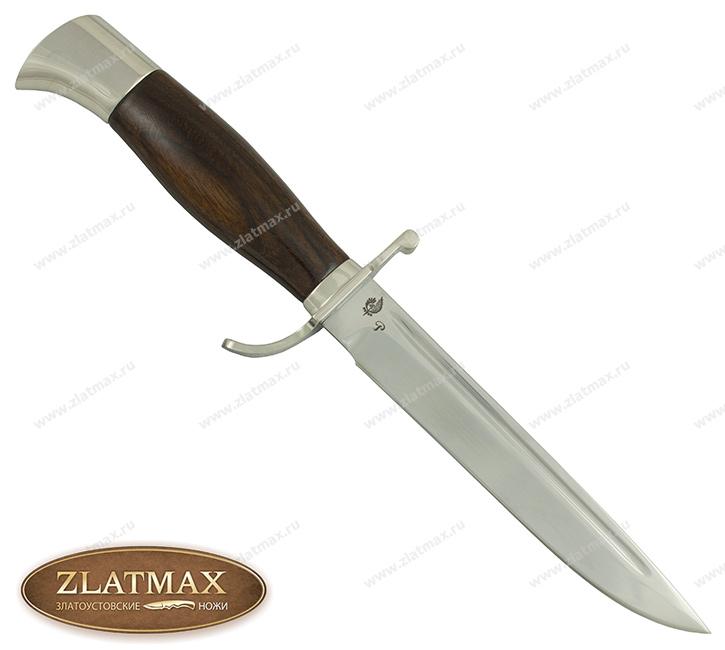 Нож Финка НКВД (40Х10С2М, Орех, Нержавеющая сталь) фото-01