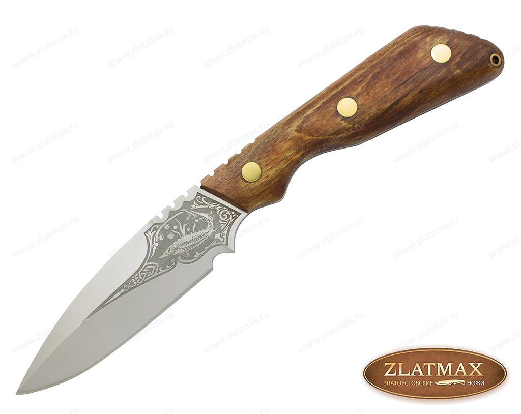 Нож Осётр (40Х10С2М, Накладки орех) фото-01