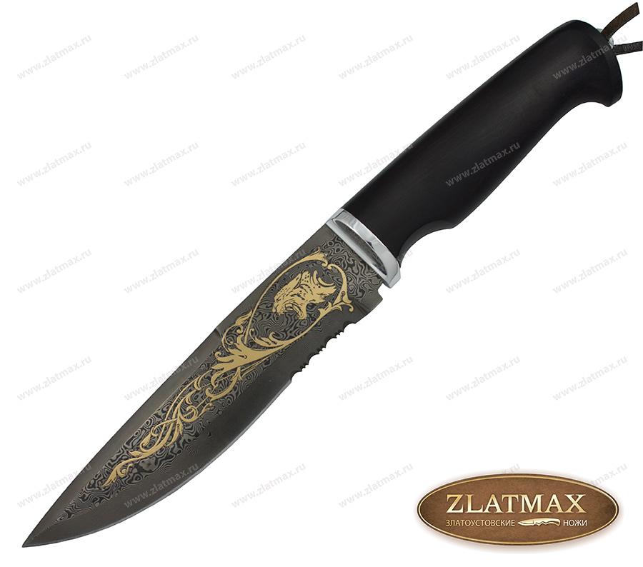 Нож Свирепый престиж+ (ZD-0803, Граб, Алюминий) фото 01