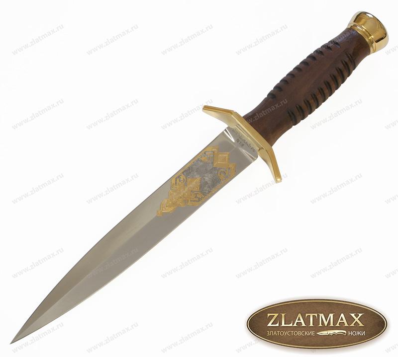 Нож Витязь престиж (95Х18, Граб, Латунь) фото 01