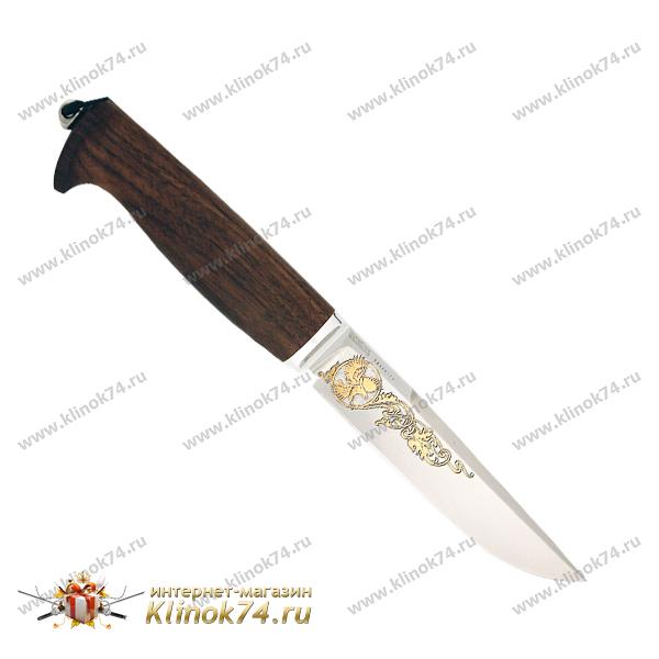Нож Финский престиж (95Х18, Граб, Алюминий) фото 01