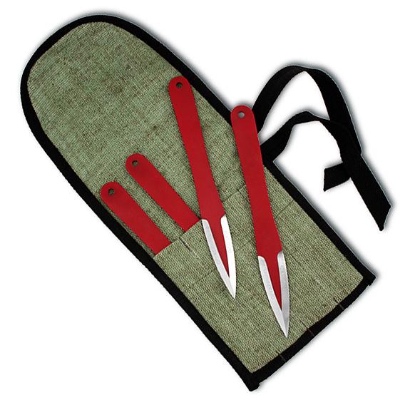 Набор Кобра М 4 ножа (40Х13) фото 01