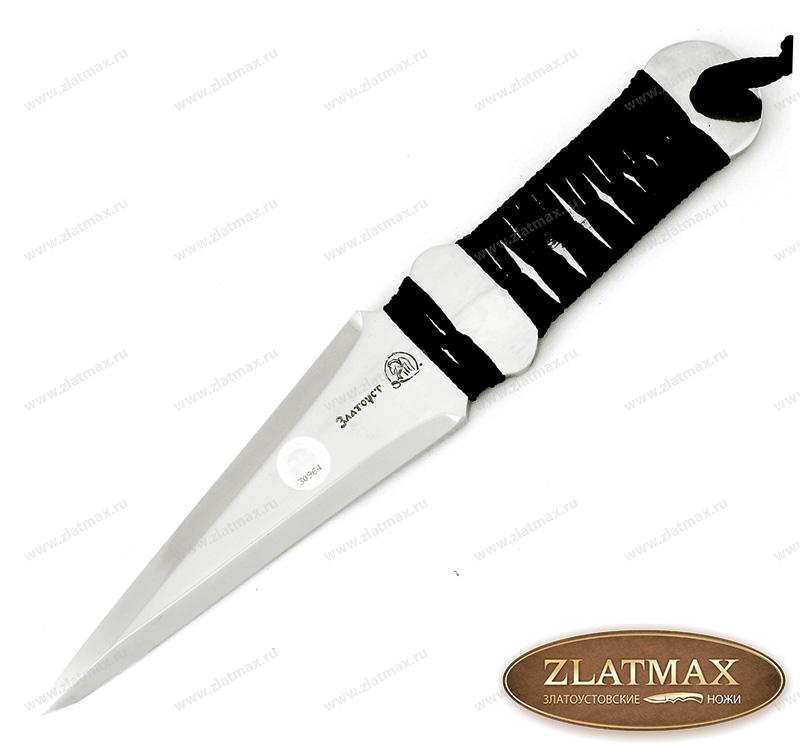 Нож Метательный Овод (40Х10С2М, Обмотка/Стальная) фото-01