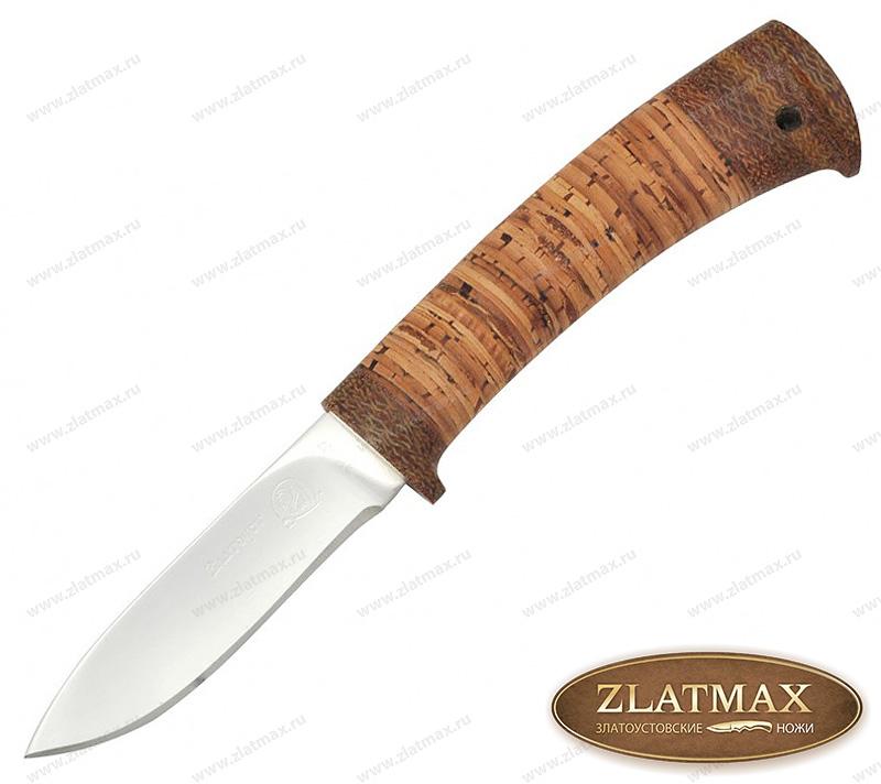 Нож Попутчик 2 (40Х10С2М, Наборная береста, Текстолит) фото-01