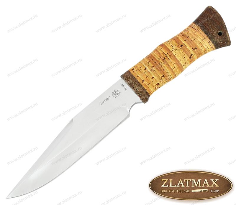 Нож Кайман 2 (40Х10С2М, Наборная береста, Текстолит) фото 01