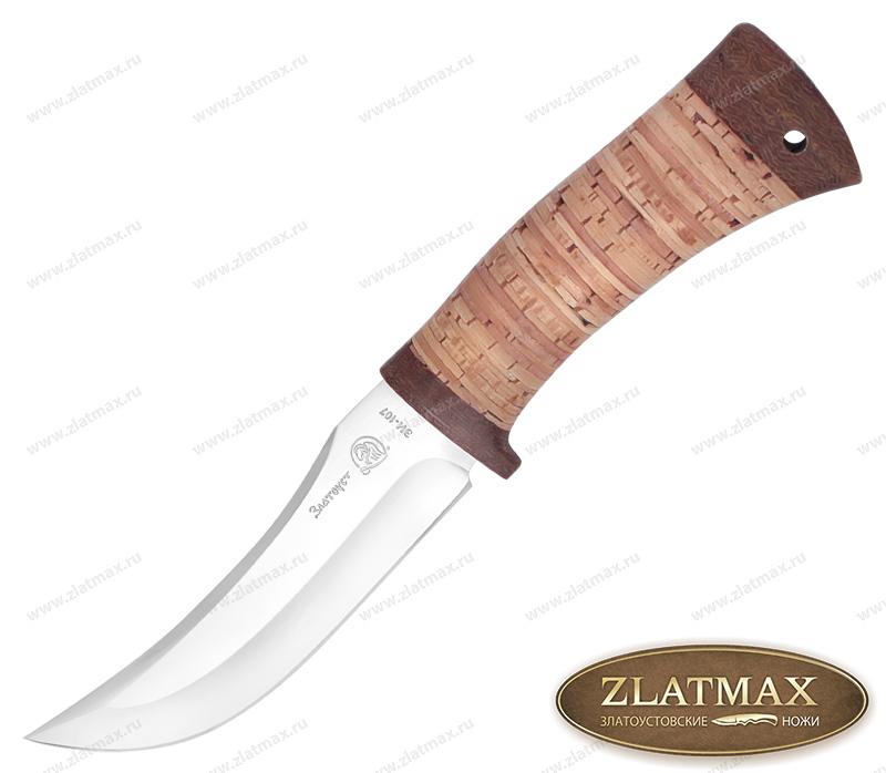 Нож Вепрь (40Х10С2М, Наборная береста, Текстолит) фото 01