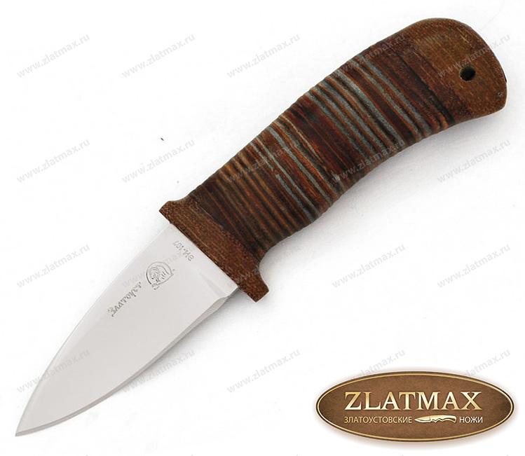 Нож Messer (40Х10С2М, Наборная кожа, Текстолит) фото 01