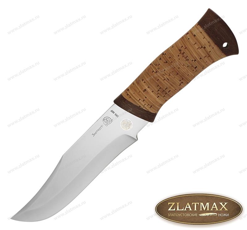 Нож Волкодав (40Х10С2М, Наборная береста, Текстолит) фото 01