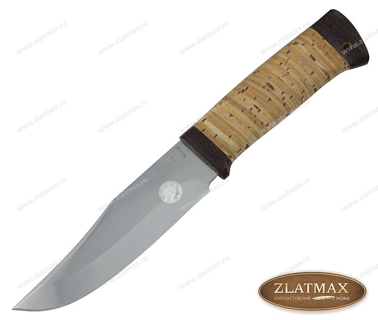 Нож Домбай-2 (40Х10С2М, Наборная береста, Текстолит) фото 01