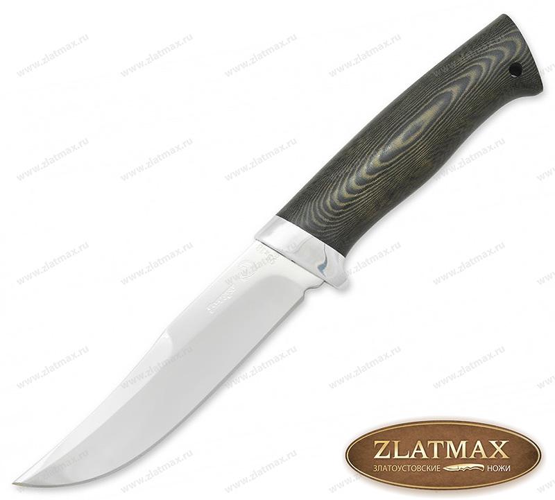 Нож Марал 2 (40Х10С2М, G10, Алюминий) фото 01